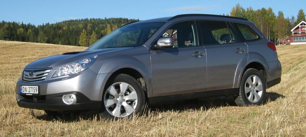 Ny Subaru Outback testkjørt