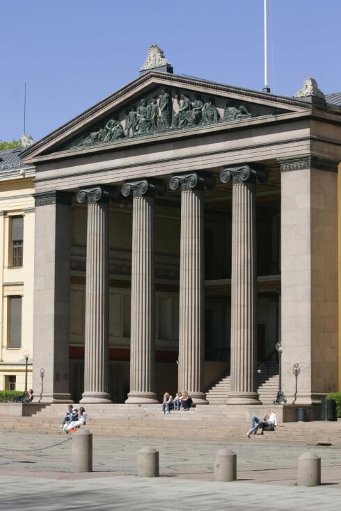 Universitetet i Oslo er sammen med Universitetet i Bergen de eneste norske universitetene på topp-listen. Foto: Colourbox