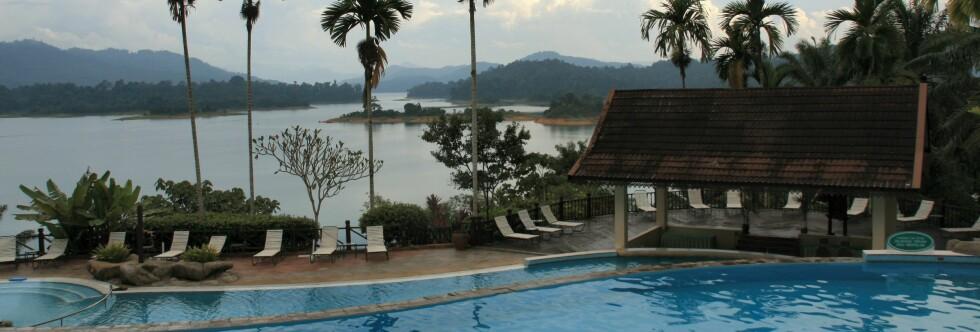 Lake Kenyir Resort & Spa er en oase i regnskogen, men ikke stedet for deg med lopper i blodet. Foto: Stine Okkelmo