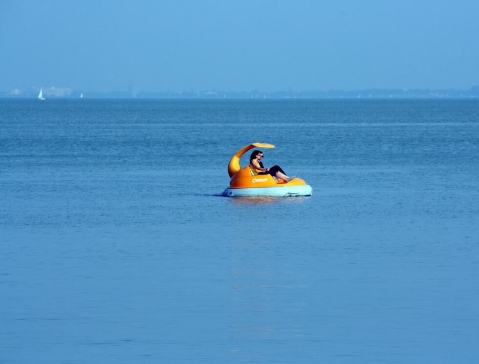 Livet rundt Balaton går omtrent i tempo med denne padlebåten. Ikke særlig raskt og actionfylt, med andre ord.