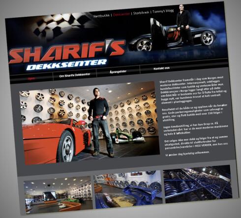 Vi ringte 24 ganger til Sharif's Dekksenter, uten at noen ville snakke med oss. Foto: Sharifs nettsider