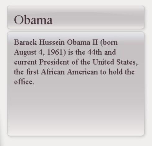 Dette er svaret du skal få dersom du taster Obama til 2326. (Faksimile: Askadam.no)