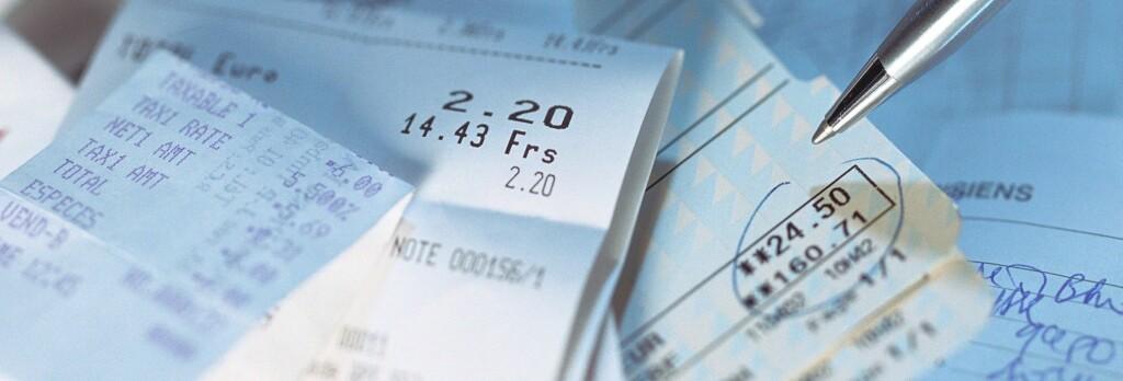 Kvitteringer som blir borte eller uleselige, er en saga blott for noen. Foto: Colourbox.com