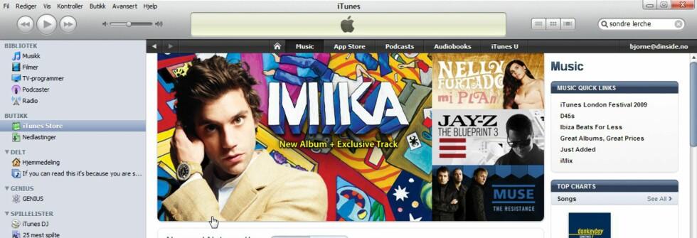 TIPS: Kopier iTunes-musikken