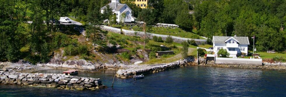 I Høyanger kommune er det idyllisk, men dyrt å bo.  Foto: Froko Lisens
