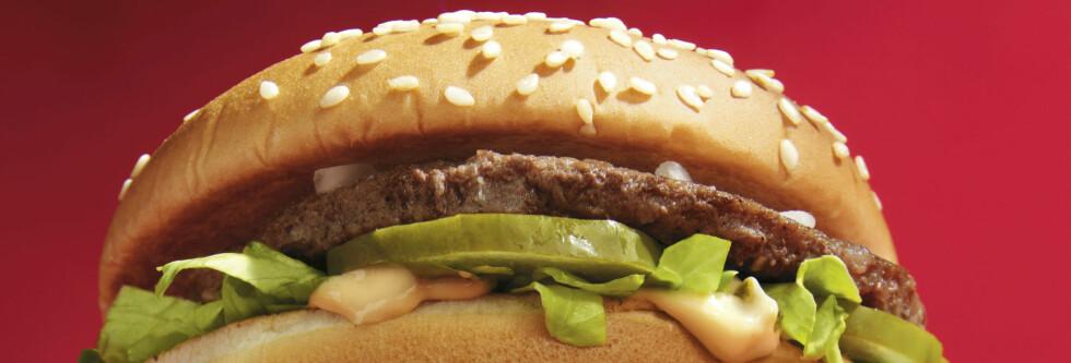 En Big Mac i all sin prakt. Foto: McDonald's