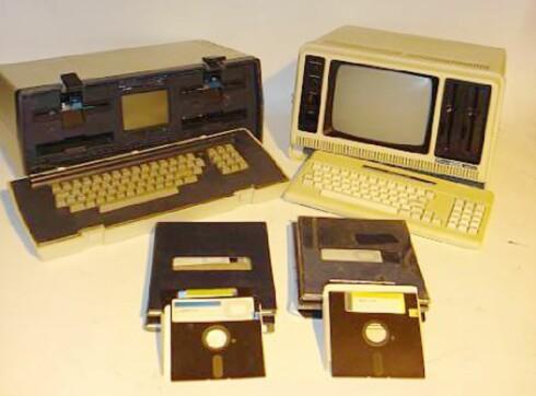 """Husker du disse? Osborne og Commodore - de første """"bærbare"""" ... Foto: Bonhams"""