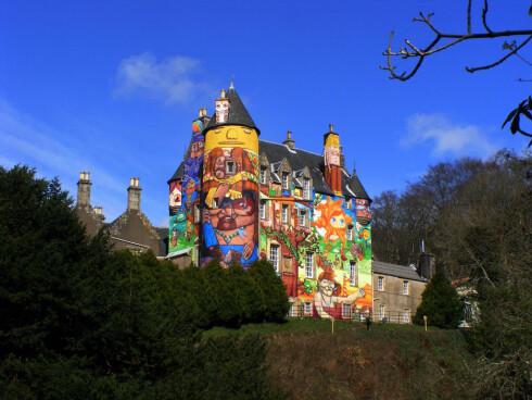 Eierne av Kelburn Castle fant en annen original løsning. Foto: Kelburn Castle