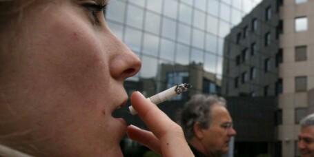 Røyking på jobb