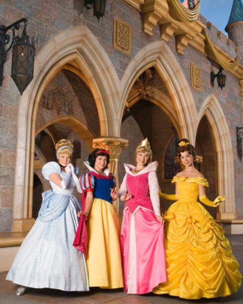 Hvor eventyr blir virkelighet ... alle små prinsessers drøm. Foto: aul Hiffmeyer/Disneyland