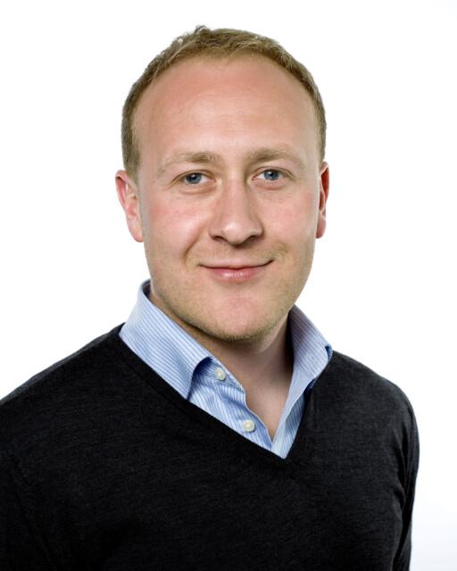 Øyvind Vederhus er informasjonssjef i NetCom. Foto: Netcom
