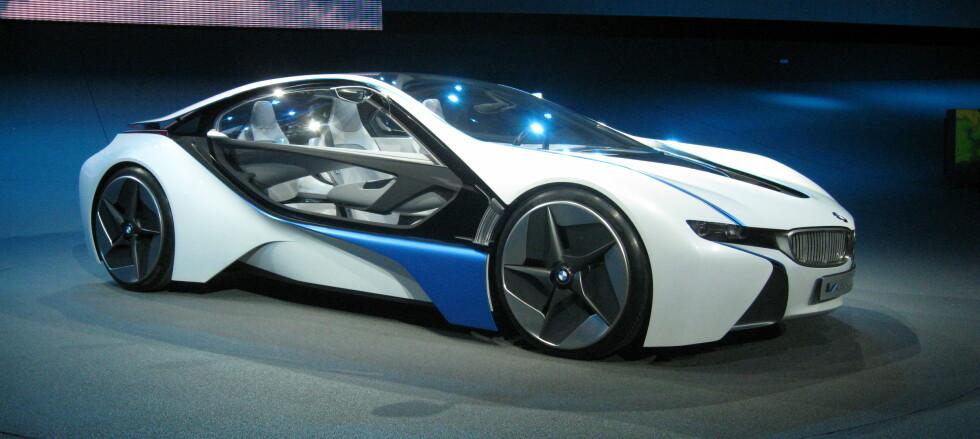 Møt BMW Vision Efficient Dynamics