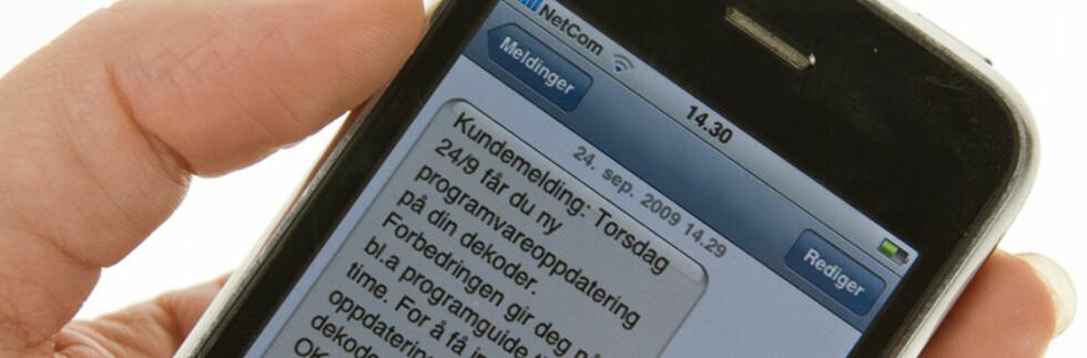 Gladmelding til noen av Canal Digitals kabelkunder. Gjelder det deg? Foto: Per Ervland