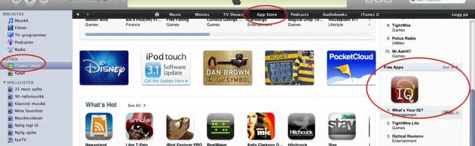 Slik får du amerikansk iTunes-konto