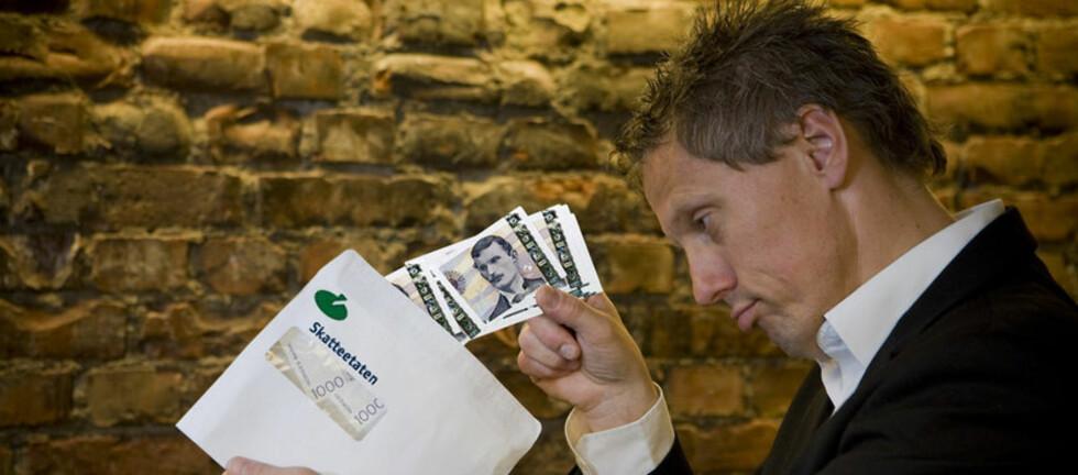Siste forfall for restskatten er i morgen. Foto: Per Ervland
