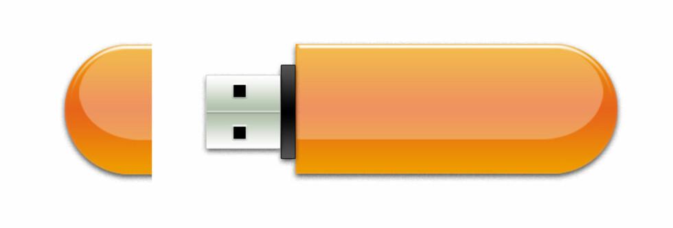 Lås PC-en med en minneplugg