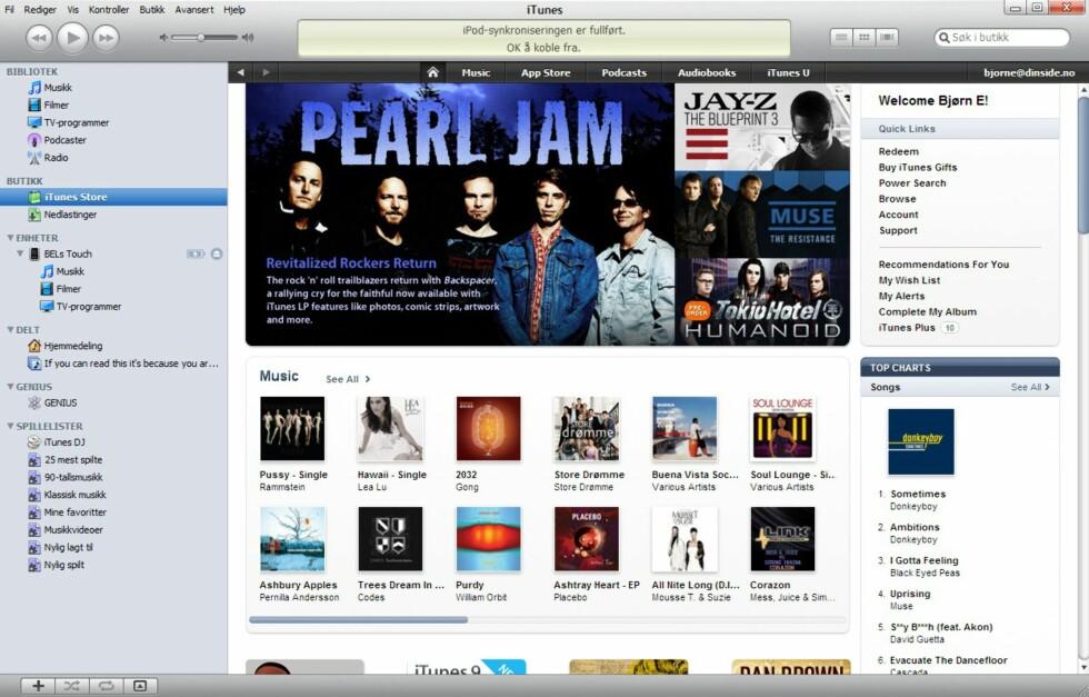 Apples musikkbutikk iTunes Store frister stadig flere.