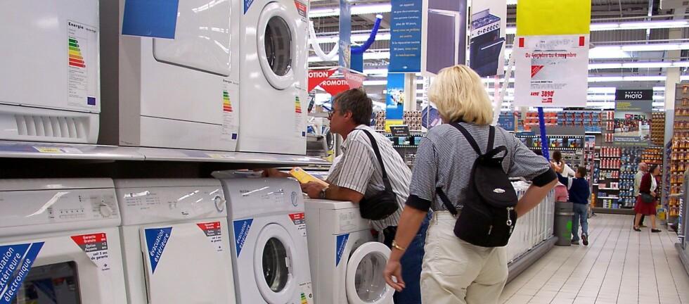 Hvitevarer har 3 års reklamasjonstid i Sverige.  Foto: Colourbox