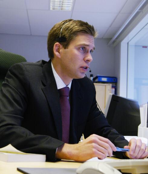 Nils Christian Øyen er finansanalytiker i First Securities. Foto: First Securities