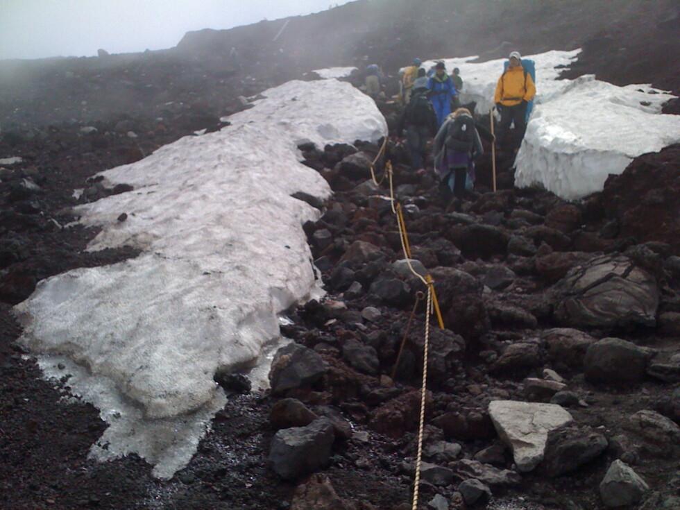 Built for comfort: Mannskeper har tatt bort snøen, så har vi ihvertfall ikke det å slite med.