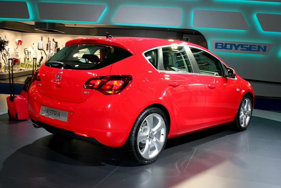 Opel Astra Foto: Knut Moberg