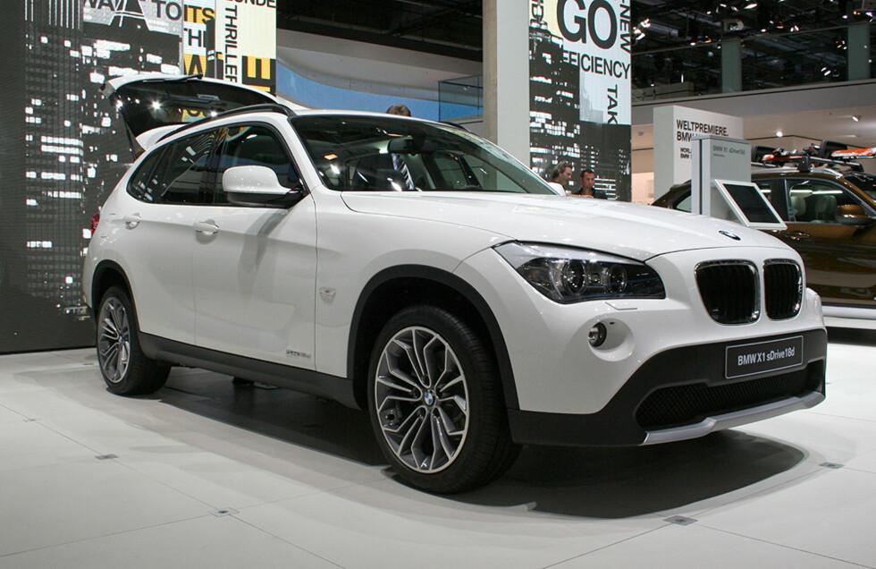 BMW X1 Foto: Knut Moberg