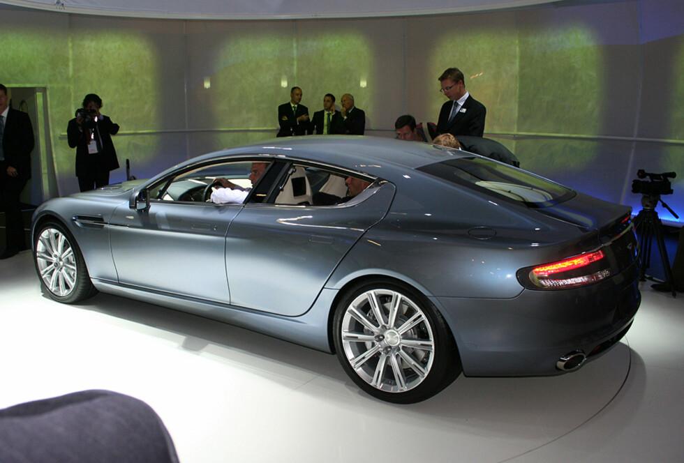 Aston Martin Rapide Foto: Knut Moberg