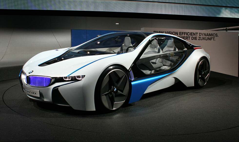 BMW Vision Efficient Dynamics Foto: Knut Moberg