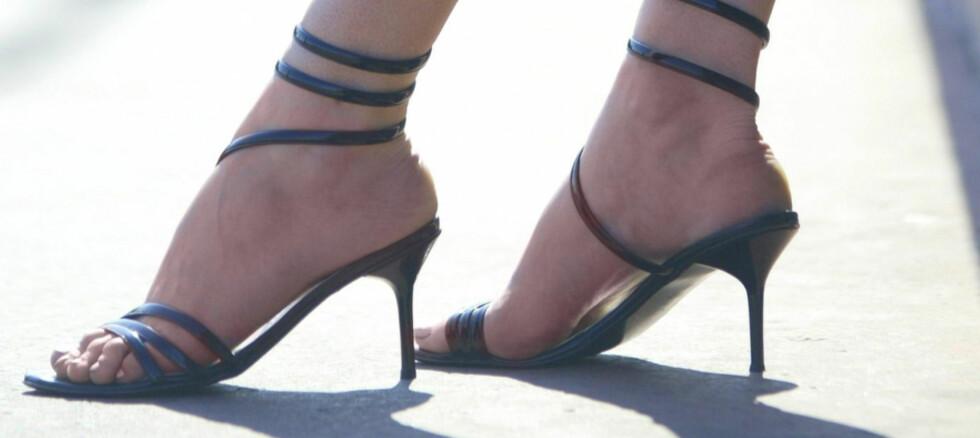 HØYT SPILL: Er sko som dette  kjønnsdiskriminerende? Noen mener det.  Foto: Colourbox.com