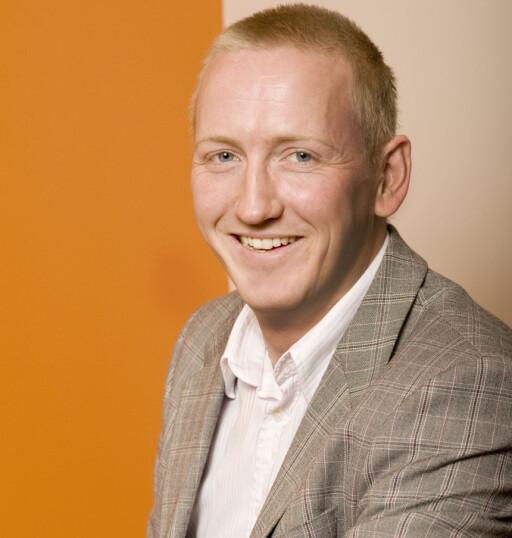 Nils Erlimo, kommunikasjonssjef i Expert