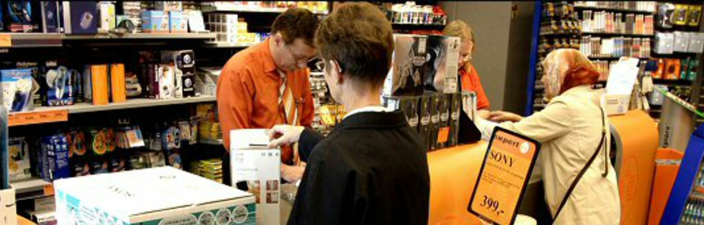 Mange kunder ønsker å bytte noe de har fått eller kjøpt. Hva skjer med varene etterpå? Foto: Per Ervland
