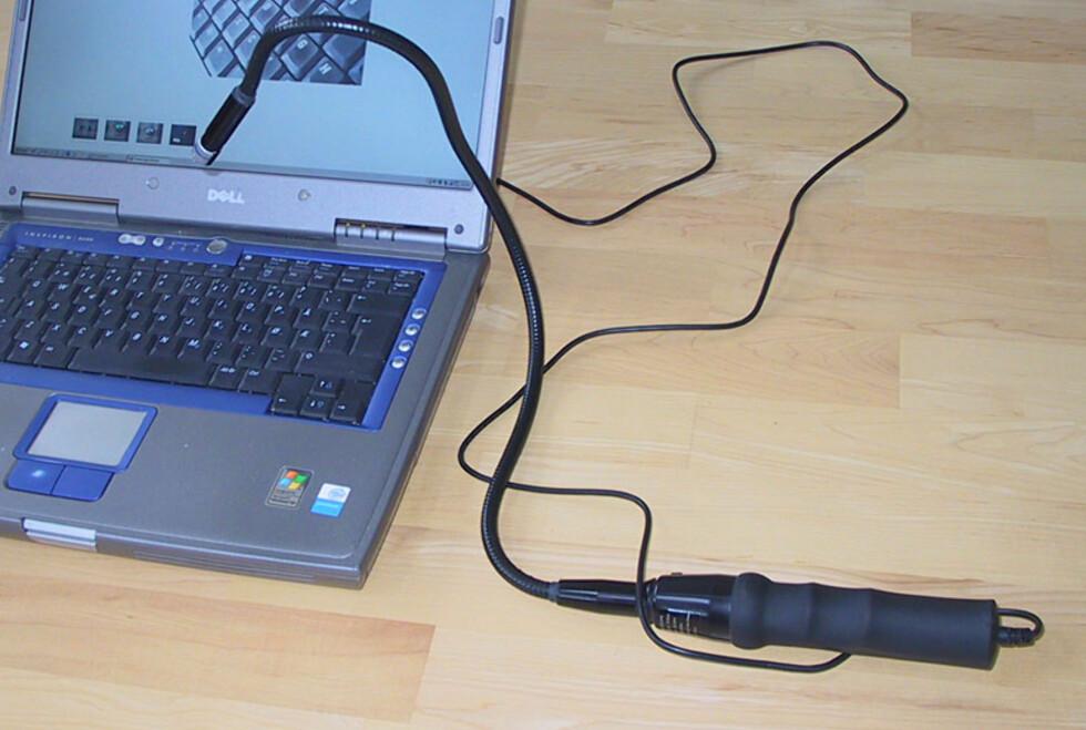 Øye på stilk med USB