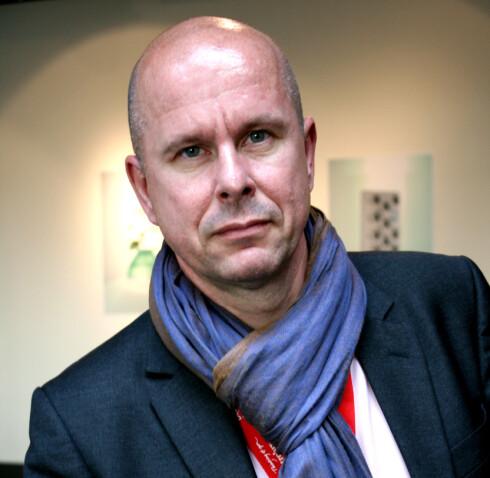 Henrik Otto er global designsjef i Electrolux. Foto: Kim Jansson