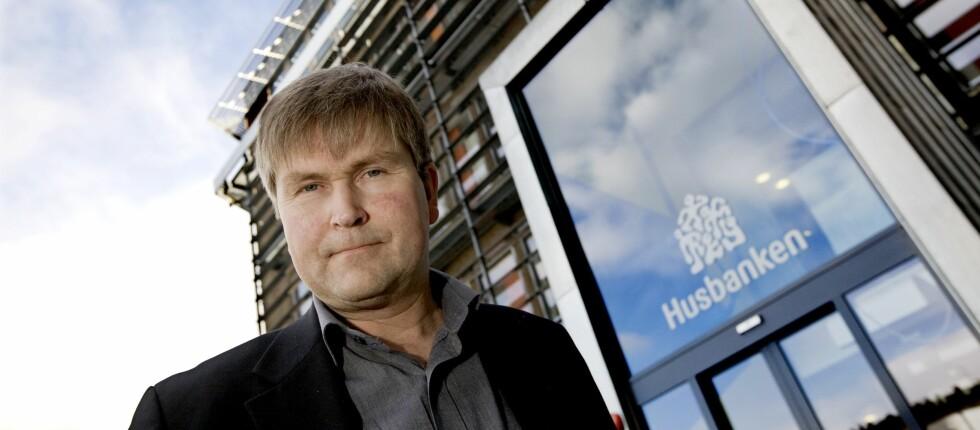 Geir Barvik, administrerende direktør i banken for de vanskeligstilte. Foto: Husbanken