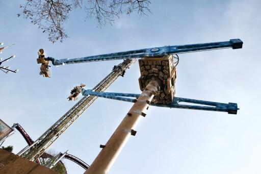 Vertigo er årets nyhet i Tivoli ... tør du? Foto: Tivoli