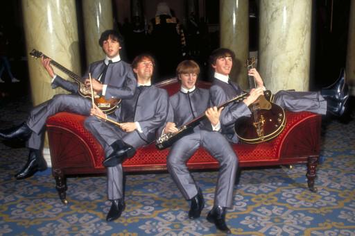 The Beatles på  Madame Tussauds.  Foto: Visit London