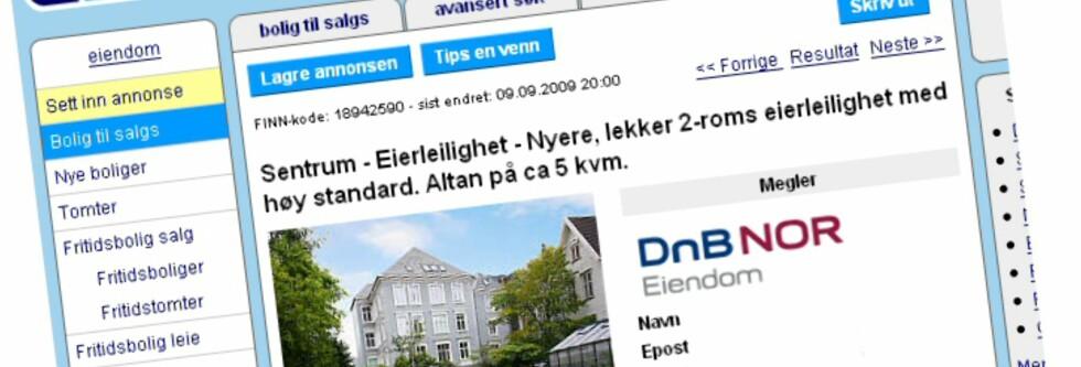 Fra første januar neste år, kan du selv selge boligen din på Finn.no. Foto: Finn.no
