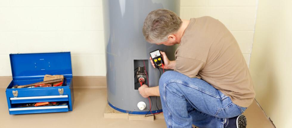 Det kan være billig forsikring å la fagfolk sjekke at VVS-utstyret ditt er i orden.  Foto: iStockphoto.com