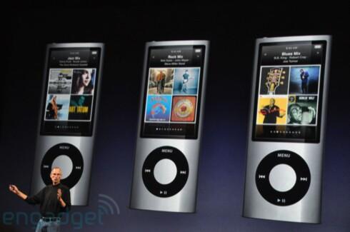 VIDEO: Nye iPod Nano kommer i 8 og 16GB-versjon, og har blant annet kamera med videofunksjon.