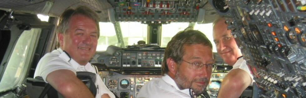 Disse karene hadde vel det som må ha vært en av verdens kuleste jobber - de var alle Concordepiloter. Foto: Paddy Briggs
