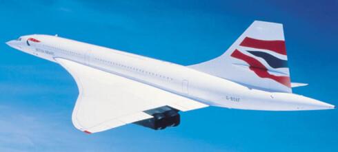 Nå kan du fly Concorde