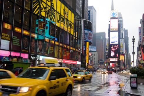 Været er surt i New York om vinteren, men byen ere så kul at hvem bryr seg om det? Foto: Colourbox