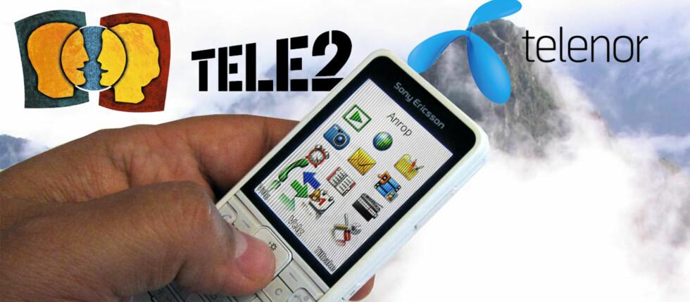 Det kan være svært dyrt å trykke på mobiltelefonens svar-knapp i utlandet. I enkelte land er det faktisk dyrere å motta en samtale enn det er å ringe hjem. ILLUSTRASJON: Bjørn Eirik Loftås