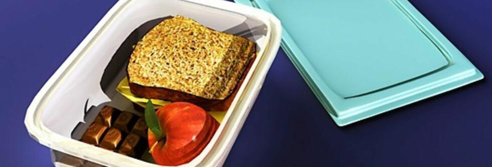 En god matpakke bør inneholde sunt fett, proteiner, fiber og langsomme karbohydrater. Foto: Science Photo Library