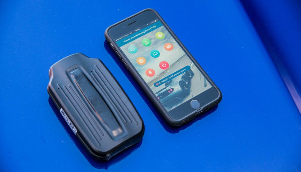 APP SOM SMS-SKALL: Appen ser moderne ut, men må bruke kryptiske tekstmeldinger for å kommunisere. (FOTO: JAMIESON POTHECARY)