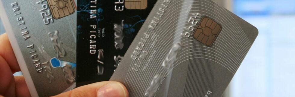 Er du en ivrig kredittkortbruker, bør du sette deg ordentlig inn i betingelsene. Foto: Kristina Picard