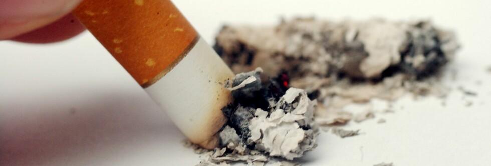 Er du nikotinavhengig kan det være hardt å stumpe røyken, men det er absolutt mulig. Foto: Colourbox
