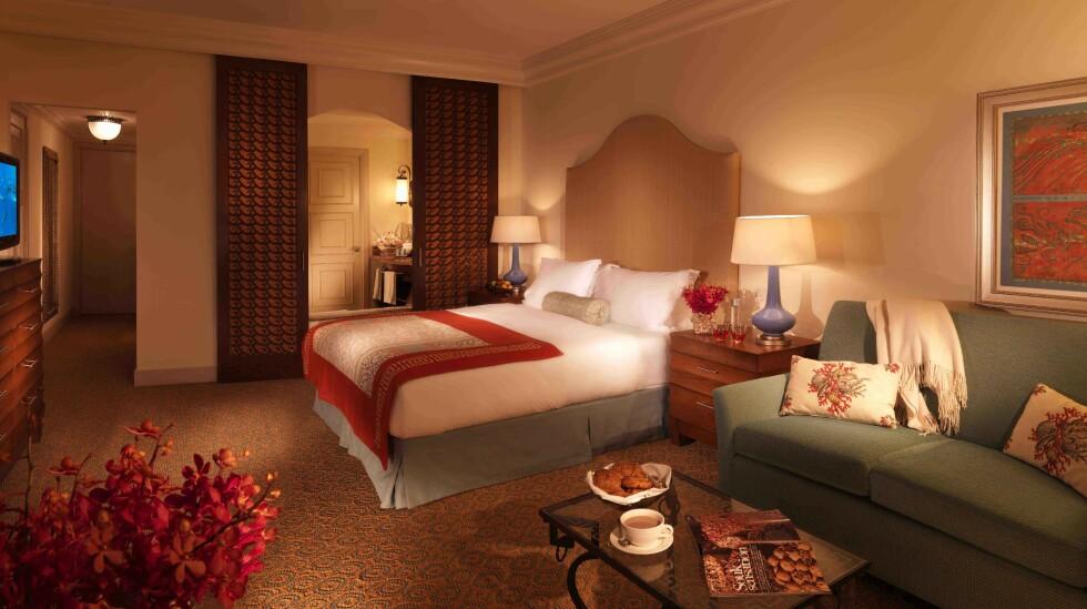 Her kan du overnatte for 452 pund (4462 norske kroner) per dobbeltrom per natt i slutten av september. Foto: Atlantis, The Palm