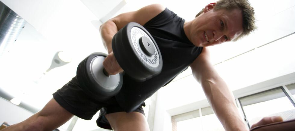 Å banne under treningsøkter reduserer opplevelsen av smerte. Foto: Colourbox.com