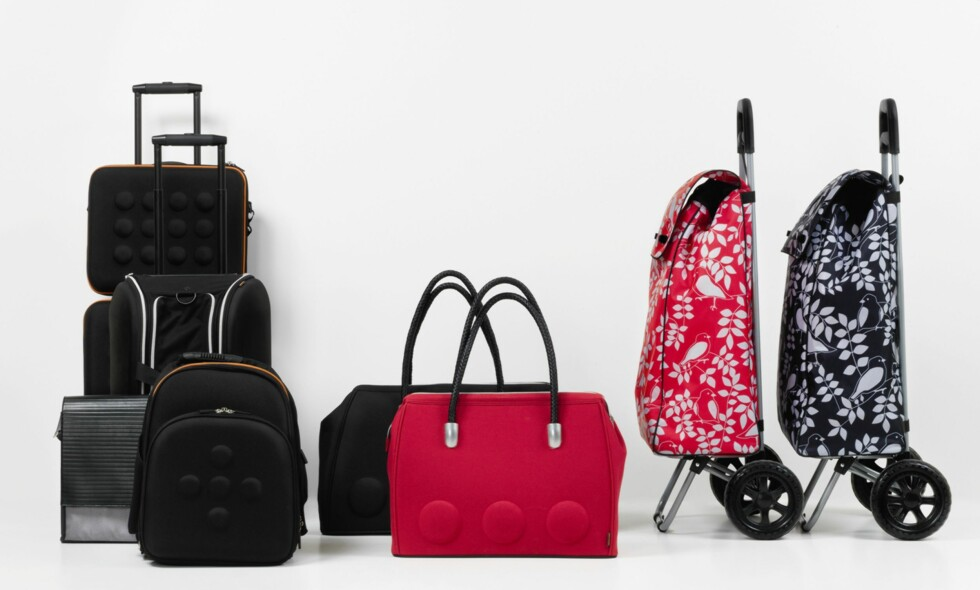Nytt i Ikea-sortimentet er reiseprodukter, vesker, kofferter og trillebager. Foto: Ikea